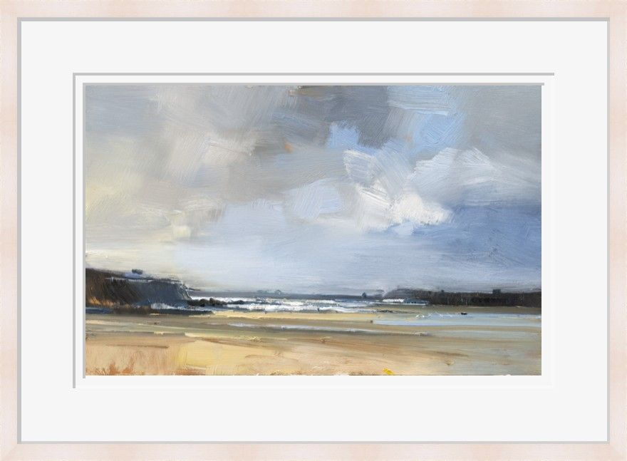 Passing Shower, Treyarnon Bay by David Atkins