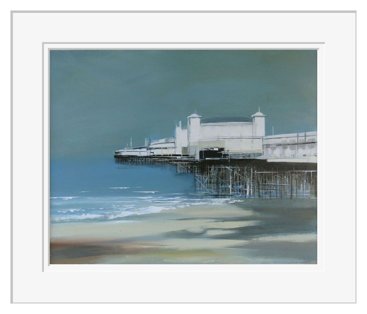 Brighton Pier by Jenny Hirst