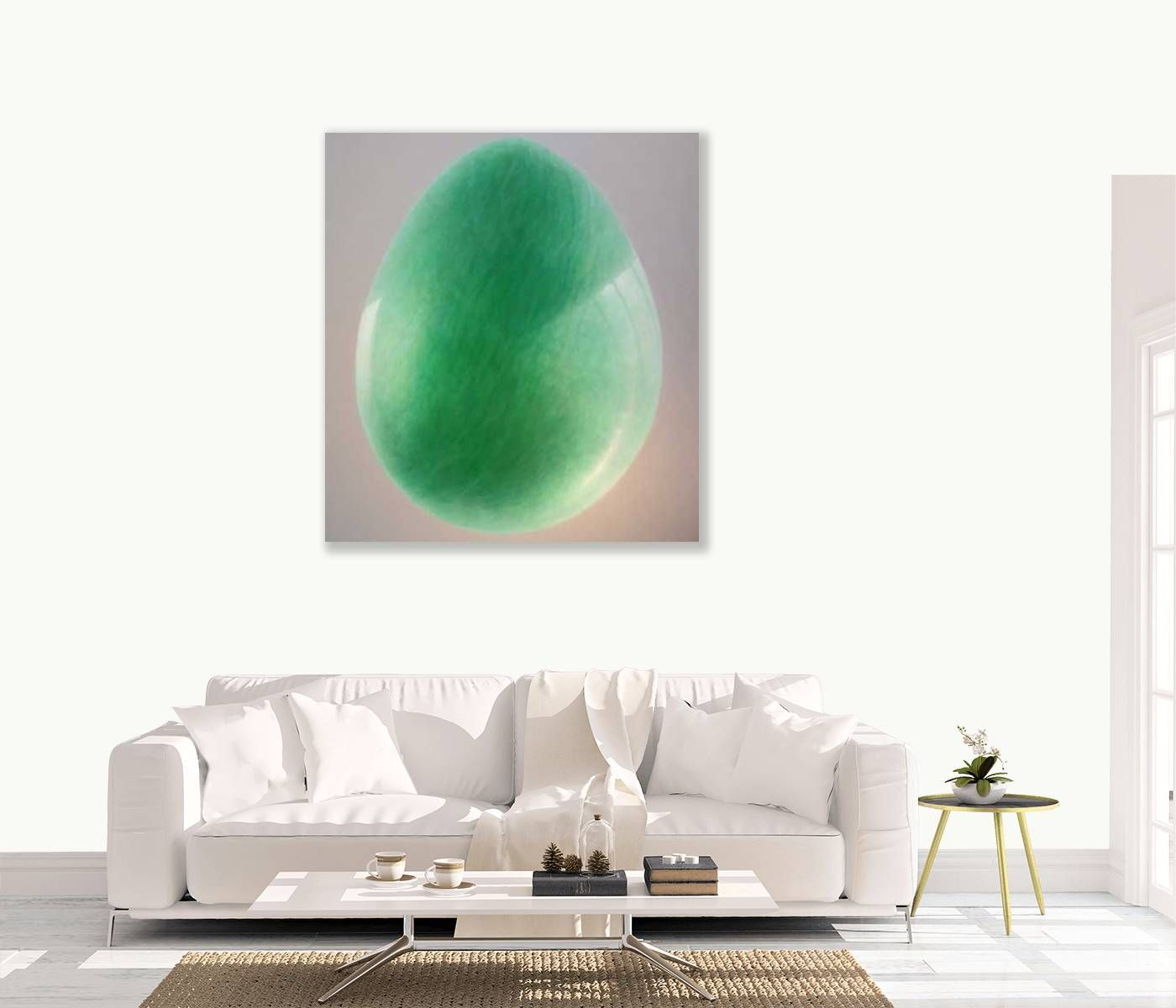Jade Egg by Lincoln Seligman
