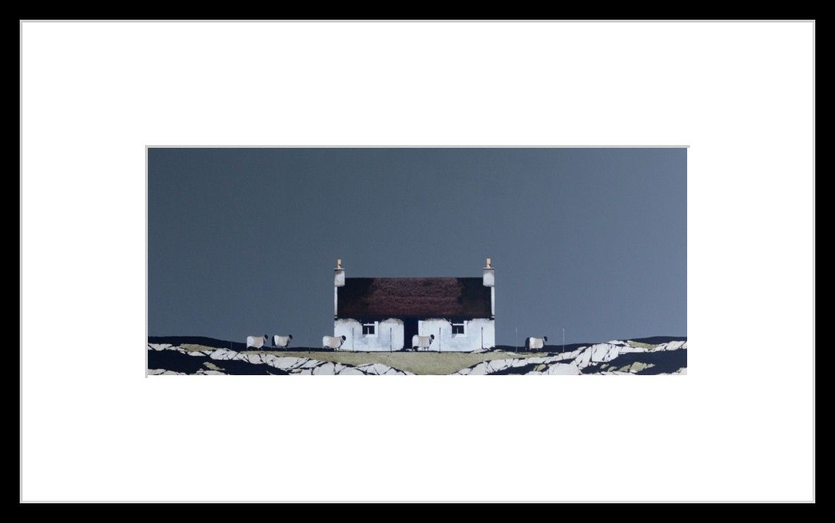 Old Cottage, Barra by Ron Lawson