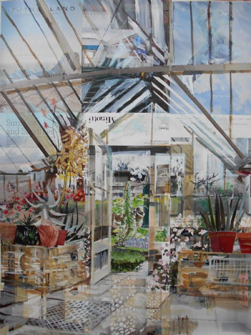 Alison Pullen - Fulham Palace, Vinery (sun and sand)