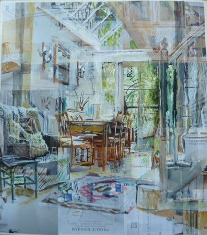 Alison Pullen - London Interior, Garden Room