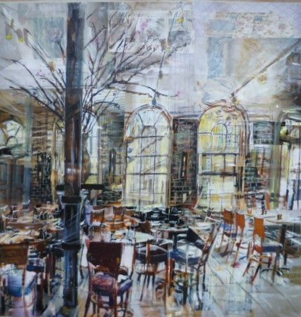 The Quod Restaurant, Oxford by Alison Pullen