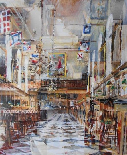Alison Pullen - Royal Hospital Chelsea, Great Hall (antiques)