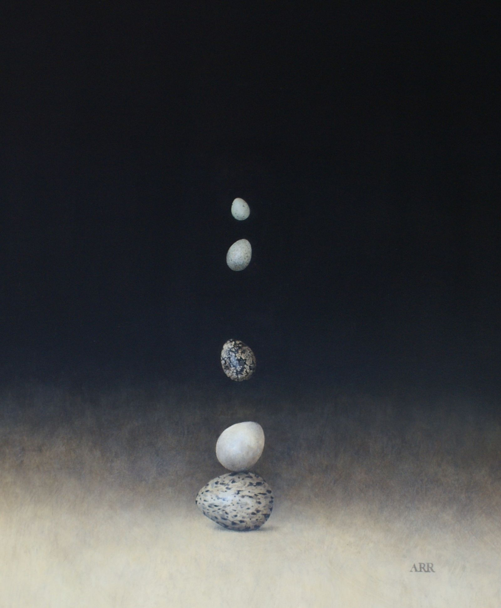 Five Balancing and Falling Eggs by Alison Rankin