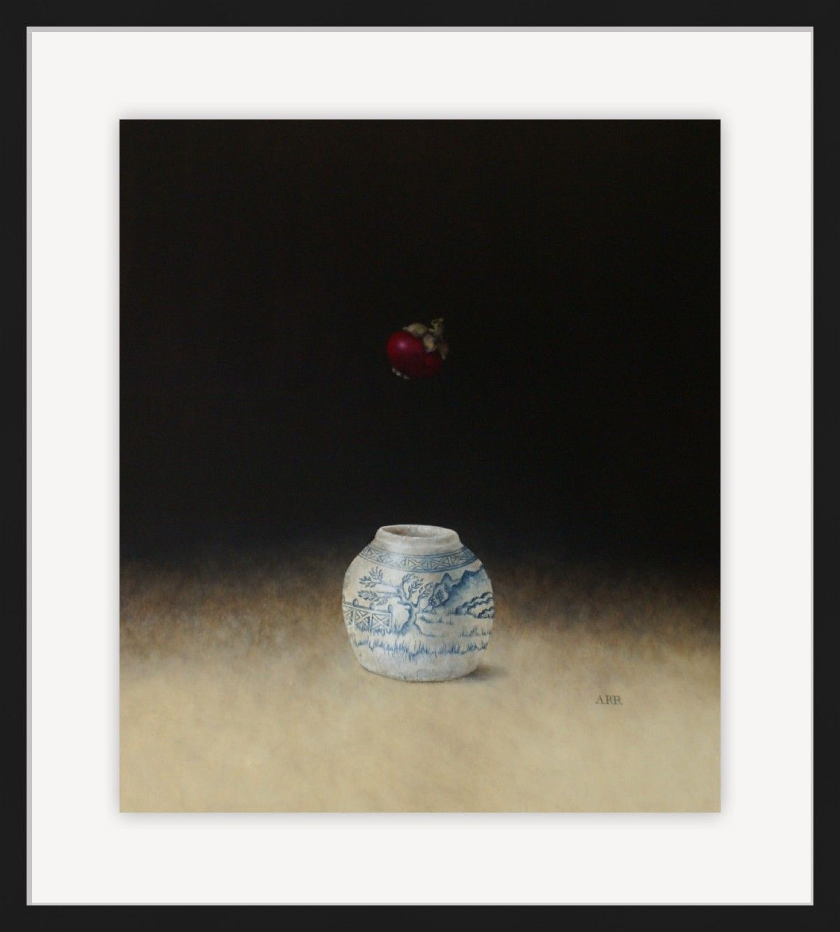 Chinese Jar with Falling Mangosteen by Alison Rankin
