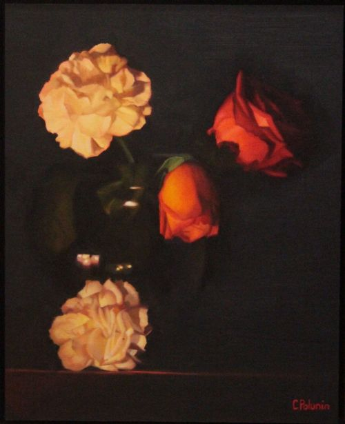Chris Polunin - Flowers by Candlelight (small)