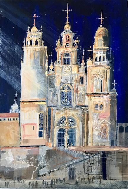 Emmie van Biervliet - Light on Santiago Cathedral