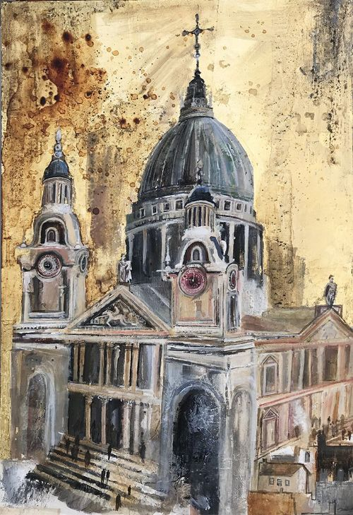 Emmie van Biervliet - St Paul's in Autumn Light