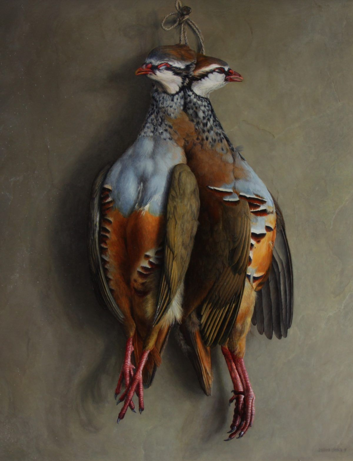 Still Life with Brace of Partridges by Jessica Brown