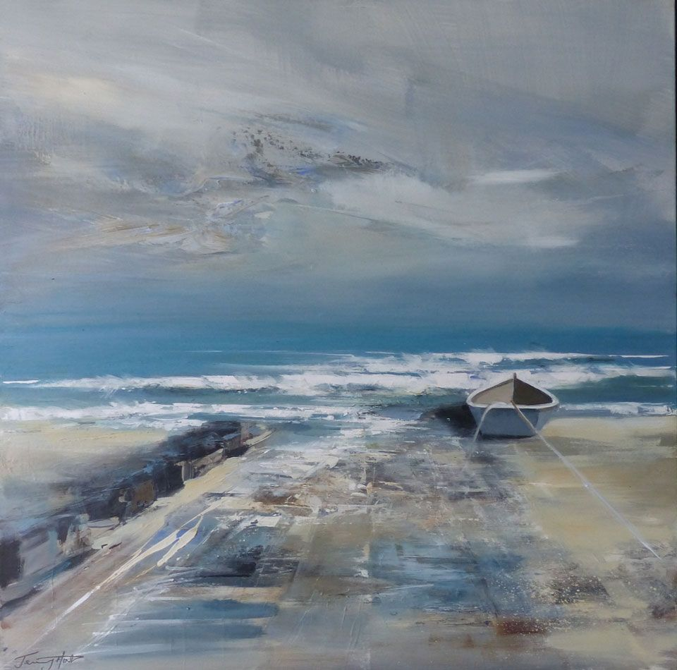 Tide Retreating by Jenny Hirst