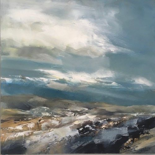 Jenny Hirst - Snowy Traces on the Moors