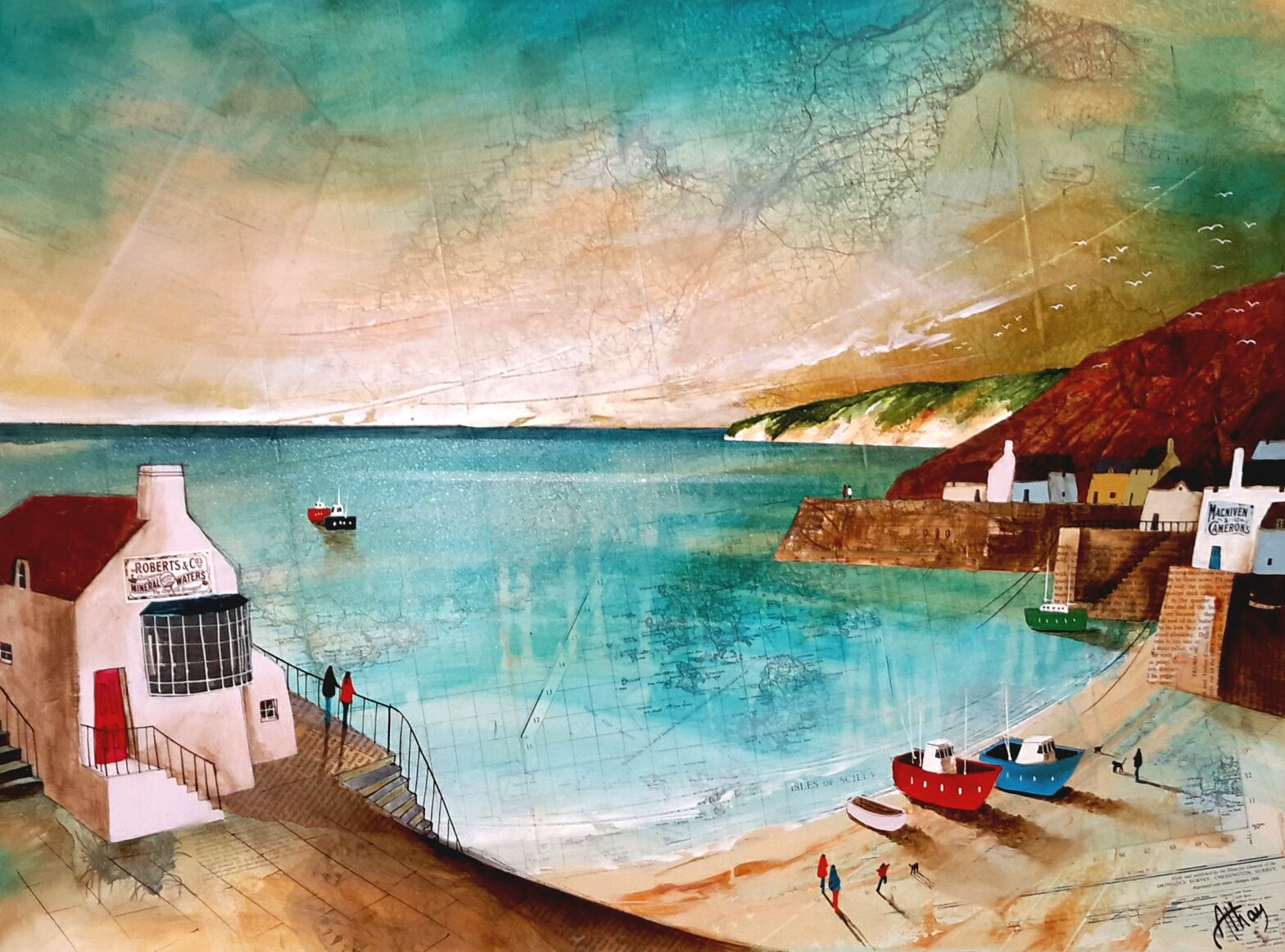 Calm Waters Bay by Keith Athay