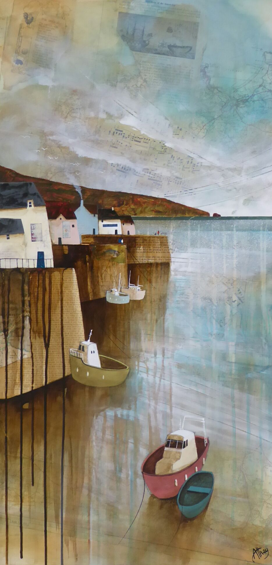 Cornish Tides by Keith Athay