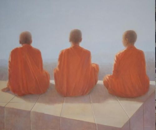 Lincoln Seligman - Three Monks