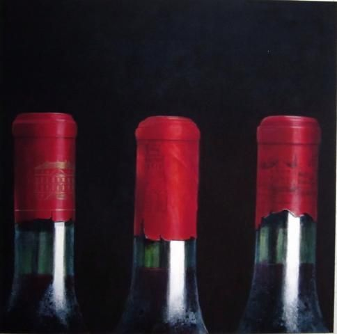 Lincoln Seligman - Three Bottles of Red