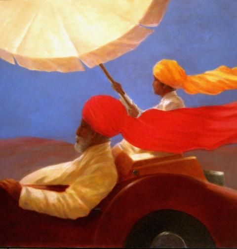 Maharajah at Speed by Lincoln Seligman