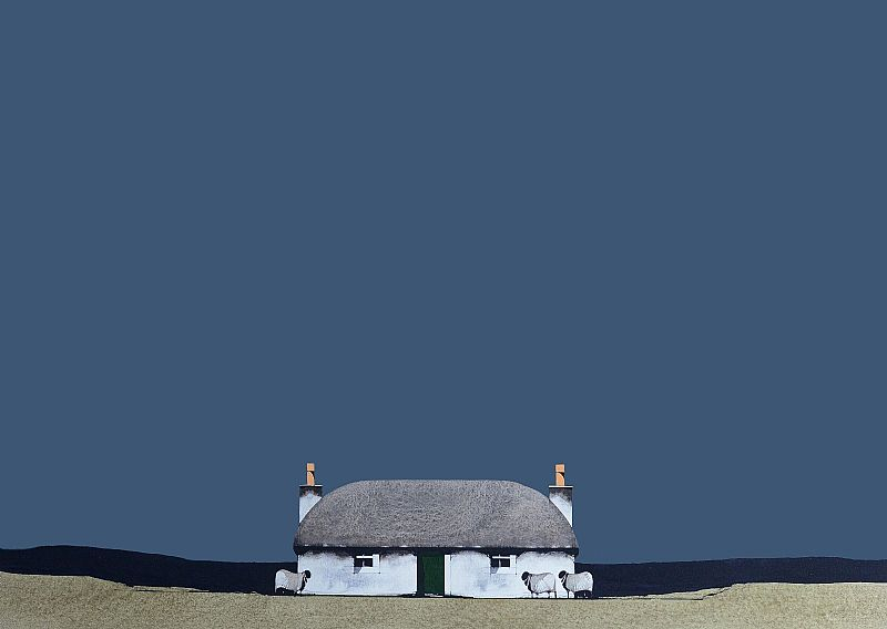 Ron Lawson - South Uist Cottage