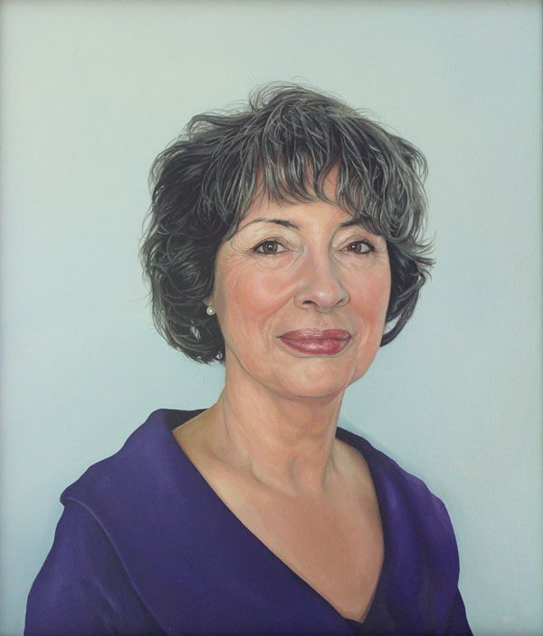 Portrait of the Artist's Mother at 70 by Stephen Earl Rogers
