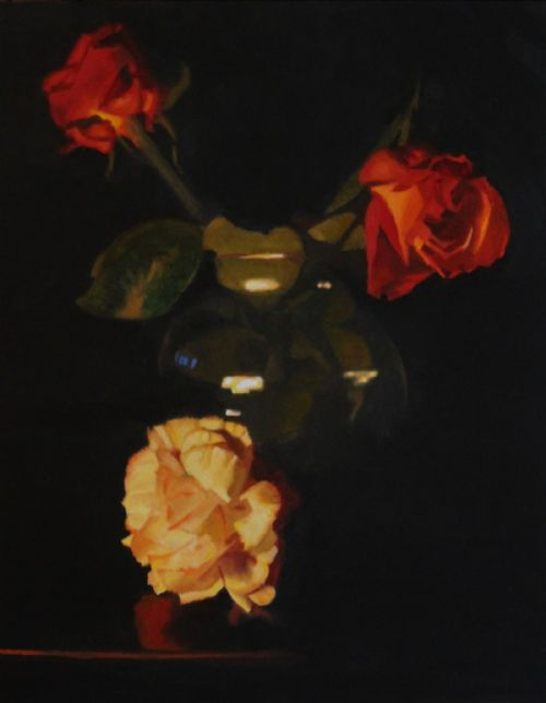 Chris Polunin - Flowers by Candlelight V