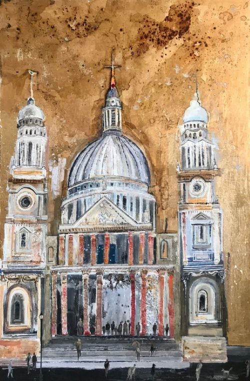 Emmie van Biervliet - St Paul's, City in the Sky