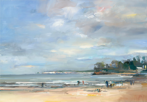 Studland Bay in Early Spring by David Atkins