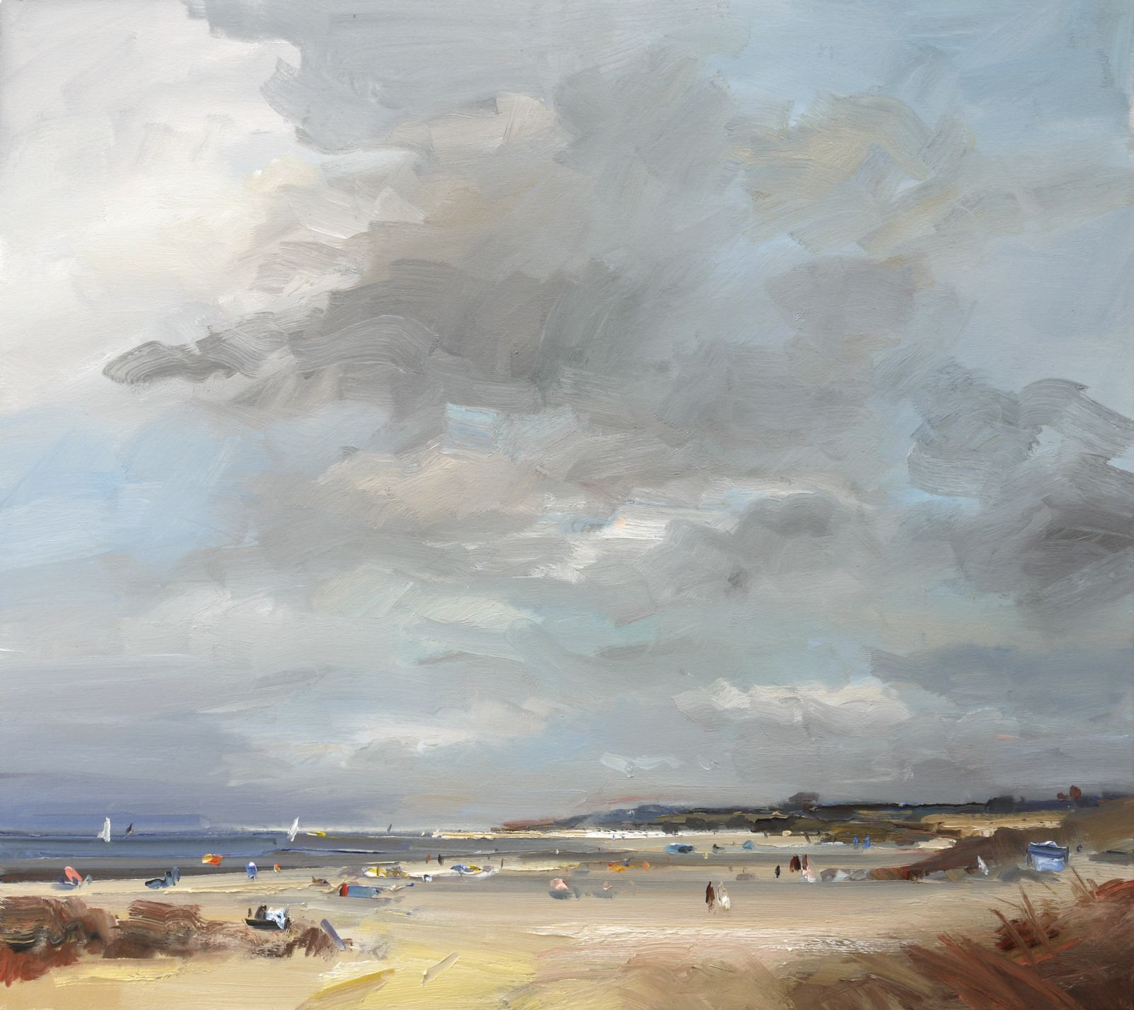 Sunny Intervals and a Gentle Breeze by David Atkins